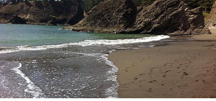 Gold Beach area in Oregon.