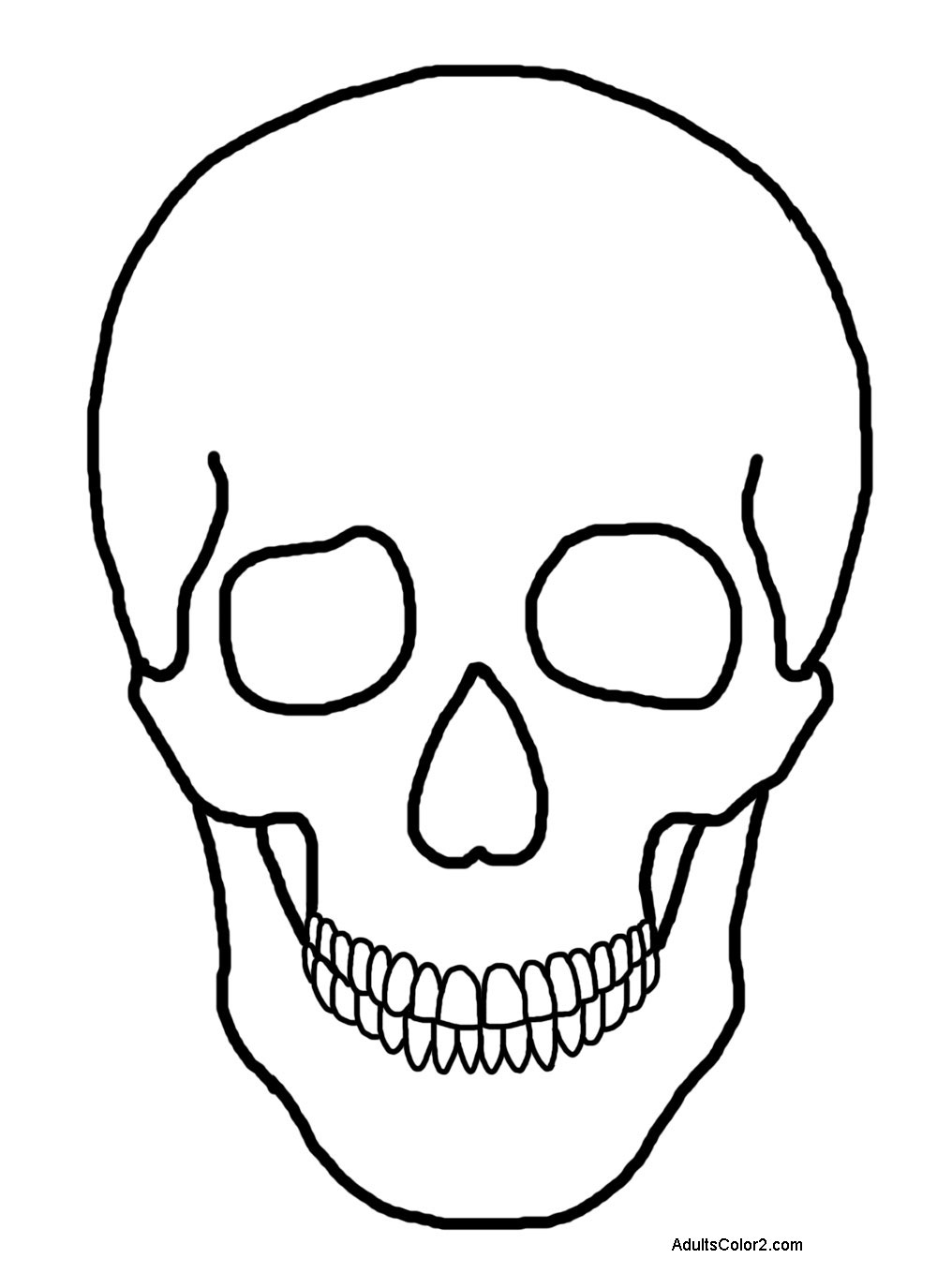 human head coloring pages - photo#5