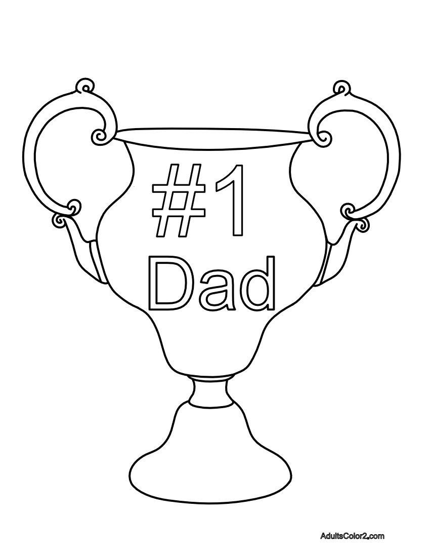Dad trophy.