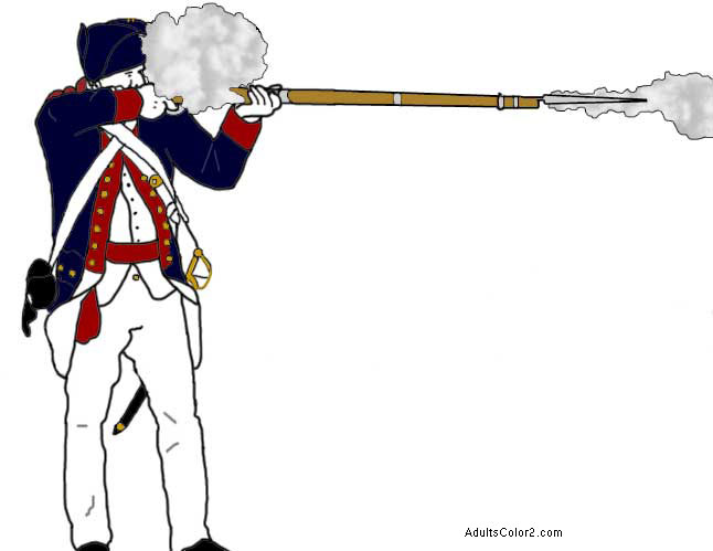 Revolutionary War soldier.