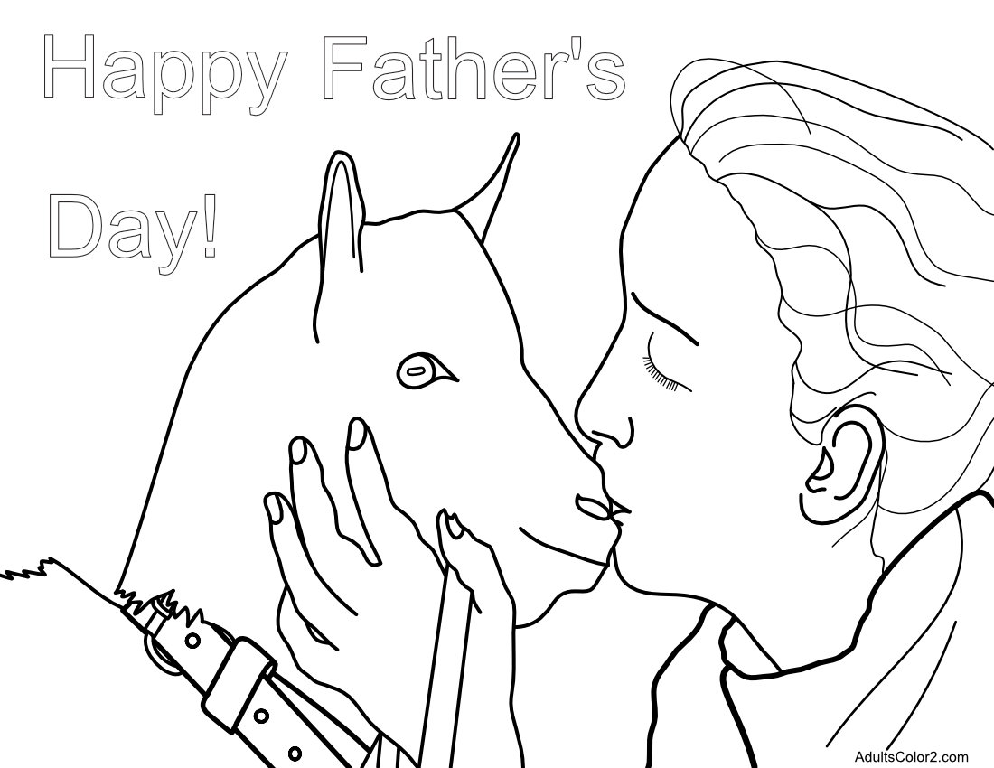 Shaggy beast father's day.