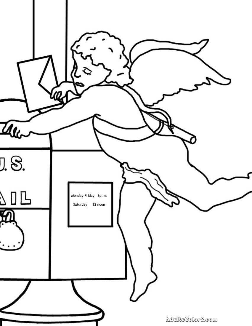 Cupid mailing letter.