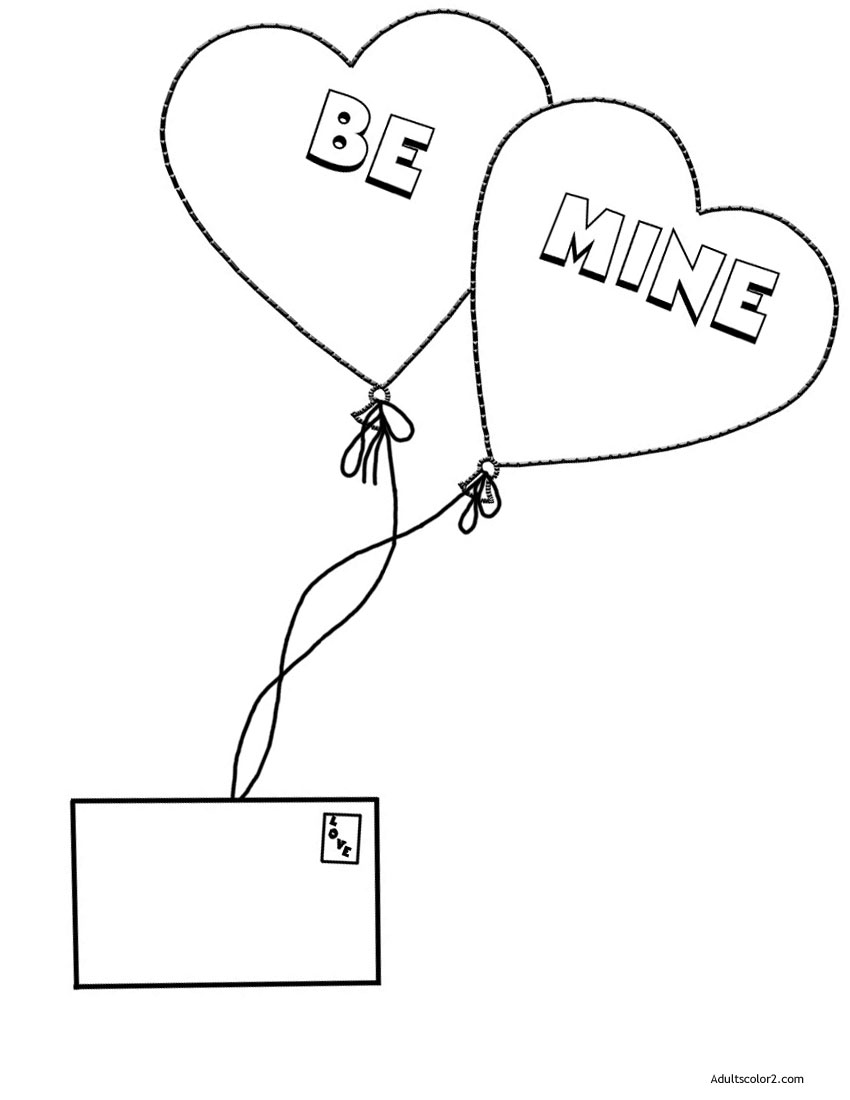 Air mail valentine.